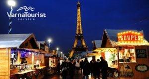 Коледа Париж