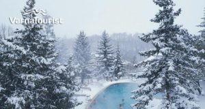 Коледа с минерални басейни в Пчелин хотел виталис
